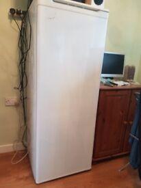 Tall fridge.