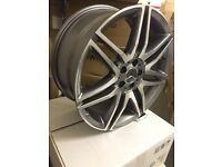 "4 NEW 19"" ALLOYS WHEELS TO FIT MERCEDES AMG A B C E S CLASS SPORTPLUS W204"