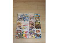 Wii games x 12 kids