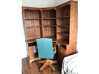 Office or Home Study......Desk, Shelving & Chair