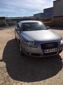 Audi A6 2007 (07) 2.0 TDi S Line. Automatic (CVT), MOT Feb 18, Full Service History