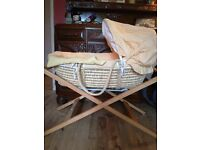 Lovely Mamas and Papas Moses Basket