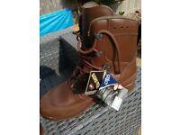 Haix combat boots