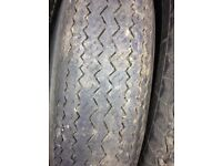 6.40 x 13 crossply tyre