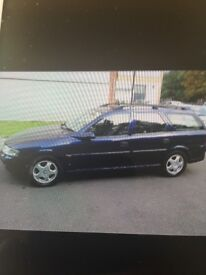Selling my Vauxhall Vectra 1.8