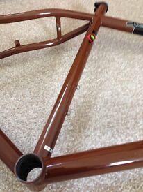 "Kona Unit frame, fork, headset, stem 26"" Wheels"