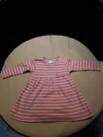 Baby girls dress 0-3mths