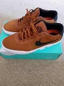 Nike SB Tan shoes 10.5 but more like 10