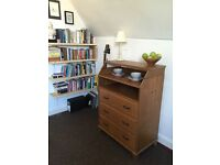 Desk and chest of drawers