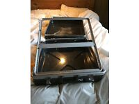 "19"" 12U ABS Mixer Flight Case - For Rack Mount Mixing Desks"