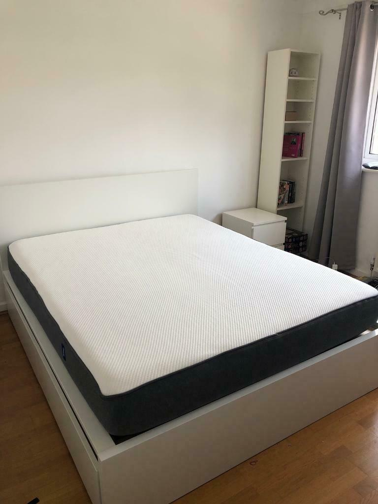 Award winning King Casper mattress and IKEA Malm bed frame in mint  condition l   in Putney, London   Gumtree