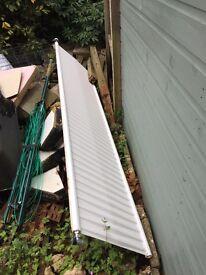 Metal radiator. 9 ft. Free