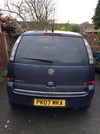 Vauxhall Meriva 07
