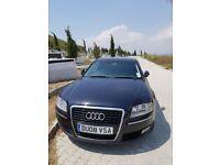 Audi A8 2008 with Navigation