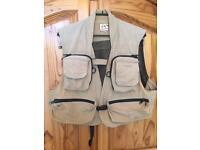 Fly fishing waistcoat