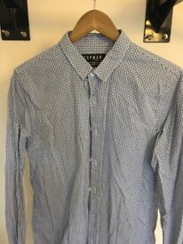 **8no. Pack Topman Shirts - White Black Blue - Solid Check Print - Short/Long Medium Slim Fit £10!!!