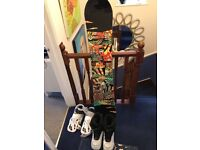 K2 Snowboard Parkstar SeriesSuitable for someone 5'10 to 6'. Nothing missing to hit the slopes...