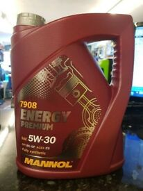 Quality 5 litres of 5W-30 C3 oil