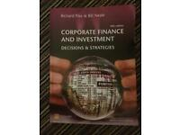 Univerity accounting and finance books
