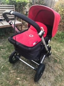 Bugaboo Cameleon Pushchair with travel bag & accessories