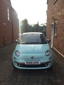 Limited Edition Fiat500 Cult model. Perfect condition.
