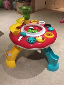 Lights and Sounds Activity Table