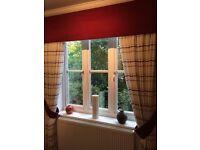 Curtains - full length with pelmet