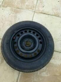 """Vauxhall 15"""" steel wheel"""