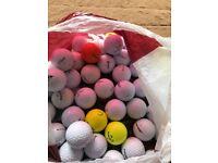 50 golfballs