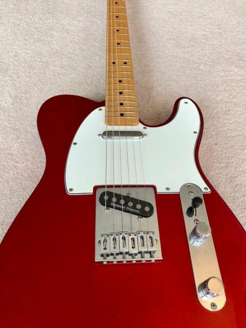 Fender Telecaster MIM (Candy Apple Red, Seymour Duncan Pickups) | in  Canning Town, London | Gumtree