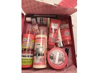 Soap and glory the whole glam lot- brand new in tin suitcase