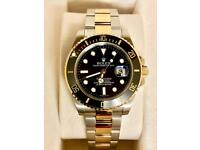 Rolex submariner bi Metal brand new with box and papers £300