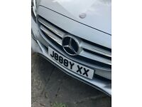 An private number plate for sell J888YXX (JAYX)