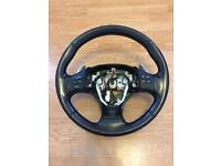 Lexus multifunction steering wheel