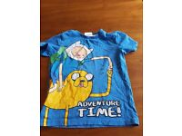 ..Adventure time t-shirt size 5-6 years