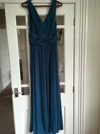 Teal Coloured 'Maxi Dress'
