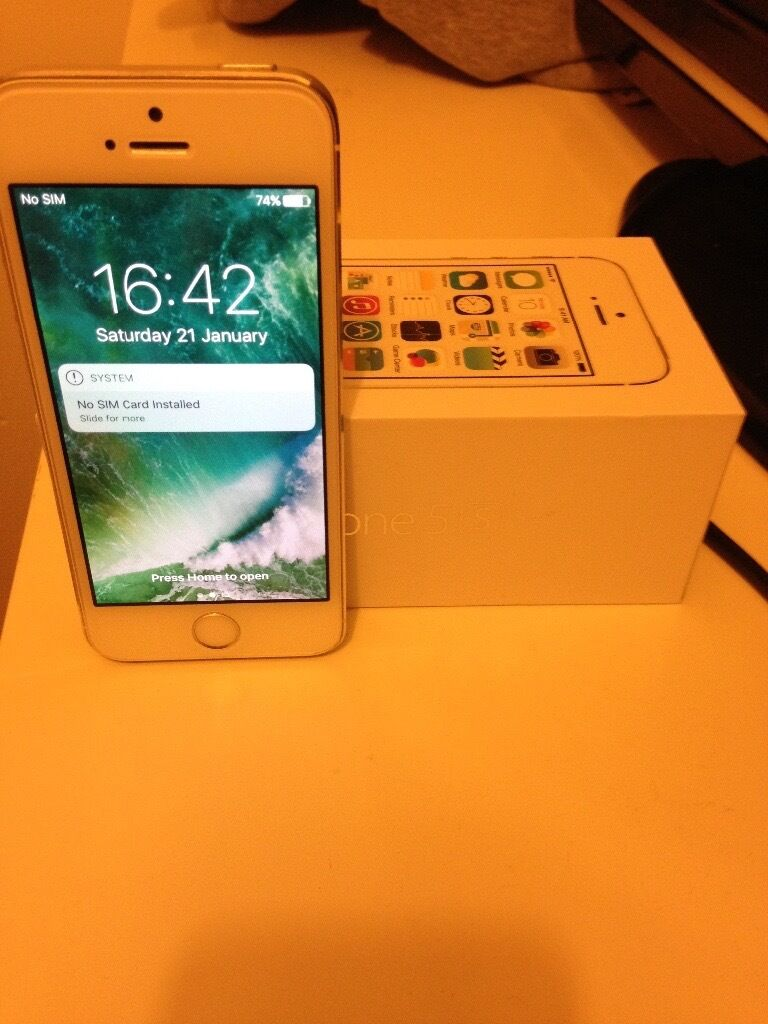 iPhone 5s 32gb unlockedin Northampton, NorthamptonshireGumtree - iPhone 5s 32gb unlocked to all networks. Works perfect and in good condition. Boxed with charger