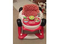 Racing Car Rocker/Baby Walker