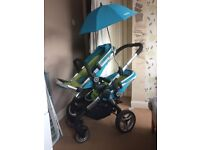 Icandy Sweet Pea Twin Pushchair