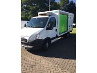 2013 Iveco chassis cab fridge van 6 speed auto (ideal tipper or recovery truck) NO VAT