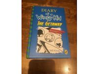 Diary of a wimpy kid 'The Getaway' hardback book