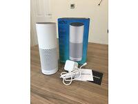 Amazon Echo Alexa White - Excellent As New, Hardly Used