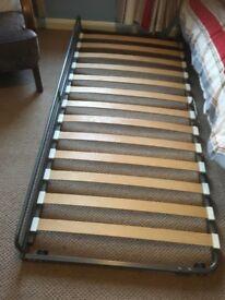 Ikea Svarta bunk bed with trundle. Ikea mattress on trundle airsprung mattress on bunk beds.