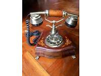 Vintage-style working telephone