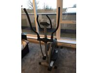 Almost brand new Kettler Cross trainer. Used only 3 times before. Manuals and power included.