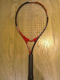 Beginners'Wilson tennis racquet