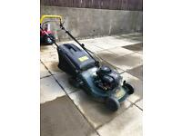 Petrol Lawn Mower with Roller