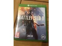 Battlefield 1 xbox one - perfect condition