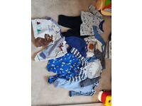 Baby boy bundle in 0-3 months