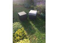 Garden foot stools